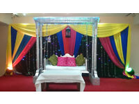 Swing and walkway, Wedding Stages, Mehndi stages, Mandap