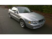04 CONVERTIBLE VOLVO C70T WITH 12 MNTHS MOT F S H. FOR 999