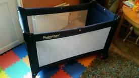 Baby Dan travel cot playpen