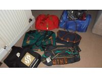 Sports Holdalls, Nike, Head, etc. Unused and some with Tags, 7 bags in Total ** PRICE REDUCED **