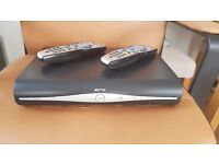 Wireless Sky + HD box with two remotes