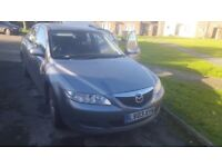 Mazda 6 Diesel 2.0L. Excellent runner. Great family car. Very reliable. Clean inside (non smoker)