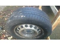 Mercedes Vito wheel and good tyre