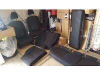 qashqai j11 fabric seat set
