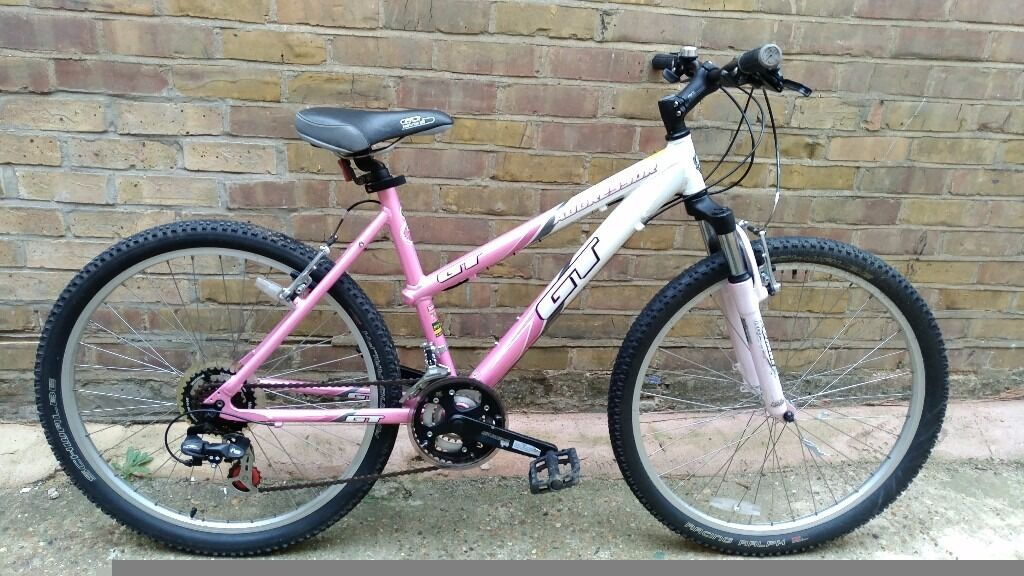 Gt Aggressor Pink Ladies Girls Mountain Bike Bicycle -1111
