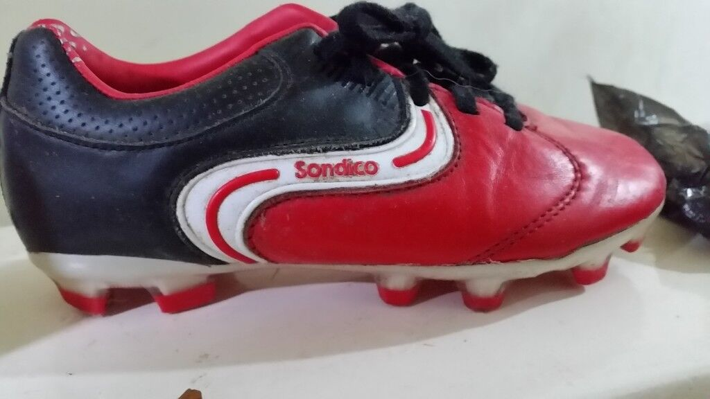 ea9880d5abfe Sondico Precision Soccer/Football Boots, Boys C13, Red, Laced   in ...