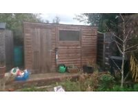 Large Shed For Sale 10.25 by 6 foot £70.00 Good Condition