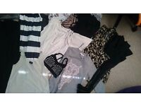 Size 8 huge bundle of clothing mainly topshop river island boohoo newlook