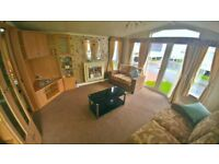 STUNNING PRE-OWNED STATIC CARAVAN FOR SALE WHITLEY BAY HOLIDAY PARK SITE FEES INCLUDED UNTIL 2019