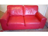 Qucik sale 2 dfs leather sofas