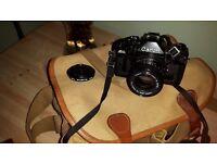 Camera & Accessories in bag
