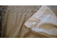 Brand new curtains - cream colour