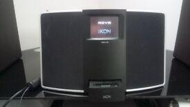 REVO IKON Ipod dock / DAB & Internet Radio (WIFI) *RRP£250* VGC Hardly used