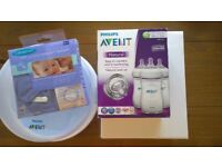 NEW Avent electric Breast pump and other baby feeding items