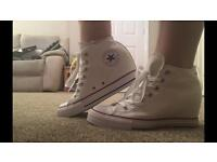 GENUINE Women's converse hidden wedge