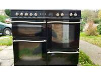 Leisure Roma 100 range cooker dual fuel ovens delivered today