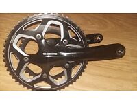 Shimano RS500 11 Speed chainset 52/36 with RS500 bottom bracket