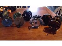 selection of fly reels for sale may suit collectors