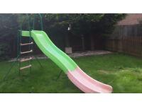 Kids Outdoor Wavy Garden Slide - Smyths - £30