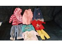 £4 the lot Newborn/0-3 months girls clothing bundle