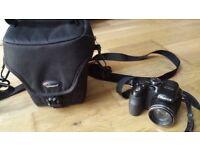 Fujifilm Finepix S1000fd Camera and Case