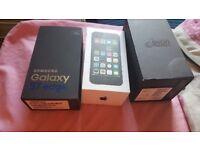 Empty boxes S7 edge, Iphone 4s, yota