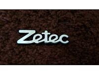 Zetec badge