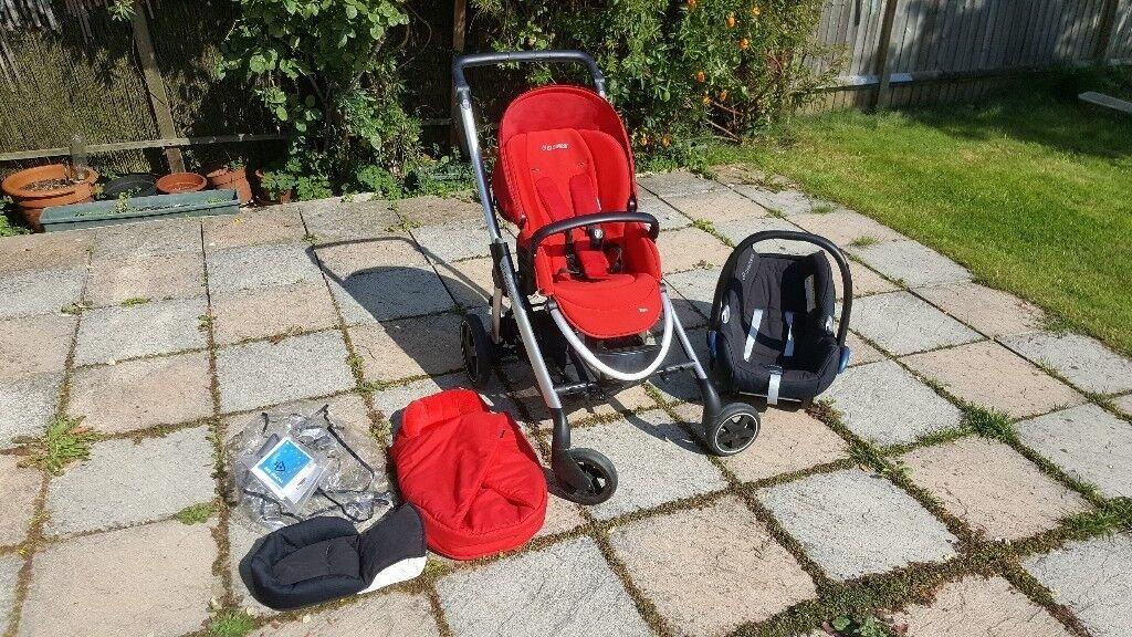 Maxi-Cosi Elea Pushchair and CabrioFix Car Seat