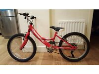 20 inch wheel girls barrosa ella bike - with isla bike gears