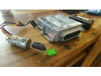 Peugeot 306 ECU SL 96/9 with key ignition