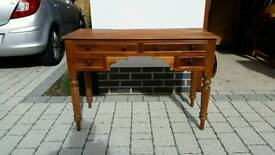 Antique teak dresser with drawers. Great condition
