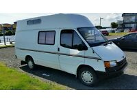 Transit camper fully loaded £595 must go asap