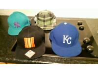New Era hats x4