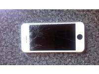 iPhone 5 smashed screen