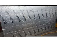 2 x 100m insulation boards +loads of cut offs