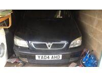Vauxhall zafira spare/repair£295