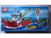 Lego City Fire Boat 60109 NEW unopened