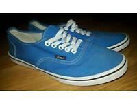 Womens blue Vans