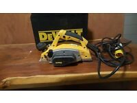Dewalt electric planer 110v