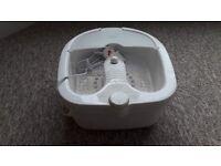 Brand new Visiq Foot Spa/Massager (model FS0060) Still in the original box