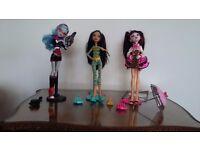 Monster high dolls set 2