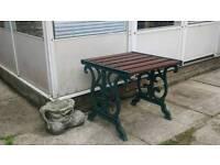 Rustic Vintage Individual Garden Bench