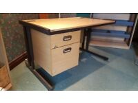 Office Desk with 2 drawers- solidly built - Excellent Condition