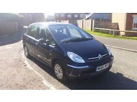 2006 CITROEN PICASSO 1.6 HDI DESIRE 1 LADY OWNER ONLY 65K MILES WITH FULL SERVICE HISTORY