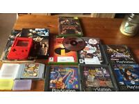 Retro gaming lot