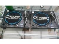 Citronic pdq turntables
