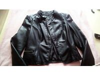 Ladies pvc jacket size 10