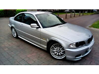 SILVER BMW 3 SERIES 3.0 330Ci M SPORT AUTOMATIC ALLOYS SERVICE HISTORY PX