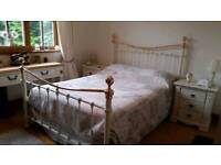 Gorgeous cream double bed