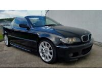 2003 BMW 325 CI M SPORT CONVERTIBLE BLACK AUTO - NEW FACELIFTED MODEL - PART EXCHANGE WELCOME